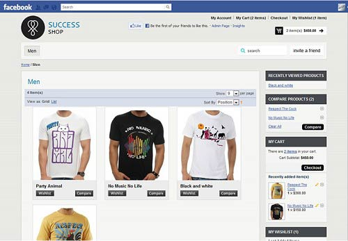 Magento FaceBook App How to Create a Successful Facebook Online Store?