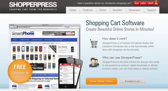 shopperpress theme 546x297 10 High Quality Premium WordPress Themes