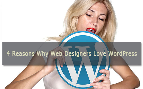 4 reasons why web designers love wordpress 4 Reasons Why Web Designers Love WordPress