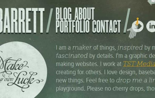 css3 i am joseph barret 546x346 Another 43 Most Inspiring CSS3 Animation Tutorials and Demos