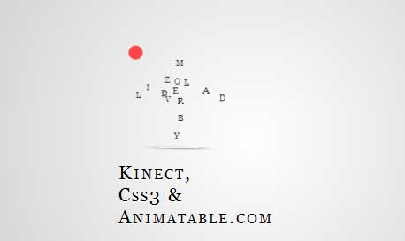 css3 kinect Another 43 Most Inspiring CSS3 Animation Tutorials and Demos