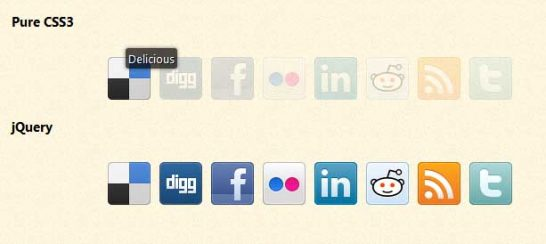 css3 social icons 546x244 Another 43 Most Inspiring CSS3 Animation Tutorials and Demos