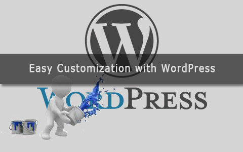 easy customization with wordpress Easy Customization With WordPress