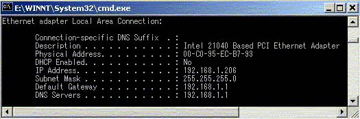 windows 2000 and xp1 The Simplest, Most Direct Way to Change a MAC Address