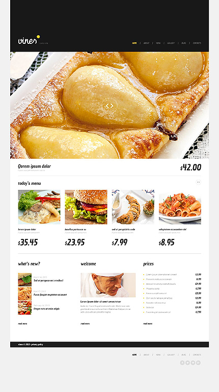 Cafe WordPress Theme
