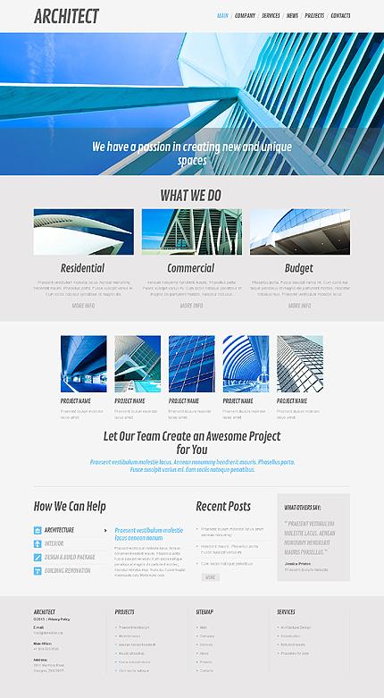 Architecture Business WordPress Theme