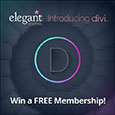 Divi Theme Launch for Developer Subscriptions Giveaway at Elegant Themes