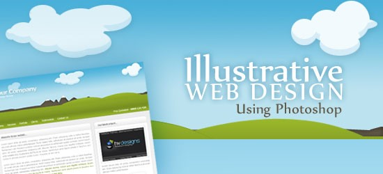 The best web designs are made using Photoshop