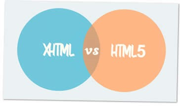 Differences between XHTML and HTML5