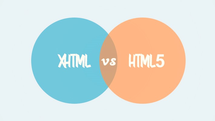 The main differences between XHTML and HTML5