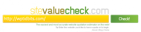 sitevaluecheck