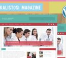 Kalistosi Magazine Free WordPress Theme