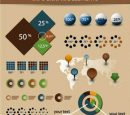 Economy Infographics and Chart Design Elements Vector
