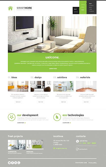 Modern Interior Design WordPress Theme